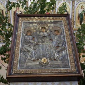 Празднование Дня Святой Троицы в храме великомученицы Ирины