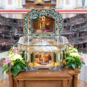 Программа принесения ковчега с мощами святого благоверного князя Александра Невского в епархии Белорусского Экзархата с 8 июля по 2 августа