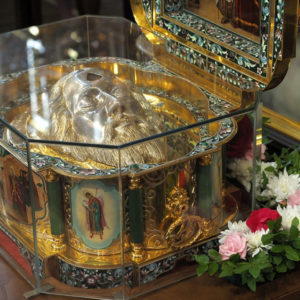 График пребывания ковчега с мощами святого благоверного князя Александра Невского в епархиях Белорусского Экзархата