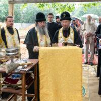 В день памяти пророка Илии митрополит Вениамин совершил чин на основание одноименного старообрядческого храма общины единоверцев в городе Минске