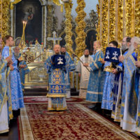 Патриарший Экзарх принял участие в торжествах в честь Смоленской иконы Божией Матери «Одигитрия» в городе Смоленске