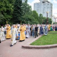 В городе Минске состоялся крестный ход по случаю празднования 800-летия со дня рождения благоверного князя Александра Невского [+ВИДЕО]