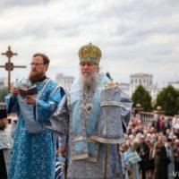 Архиепископ Димитрий возглавил торжества по случаю престольного праздника Свято-Успенского кафедрального собора города Витебска