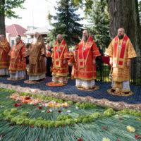 Патриарший Экзарх возглавил в Жировичской обители торжества в честь преподобномученика Серафима, архимандрита Жировичского