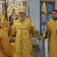 В канун Недели 12-й по Пятидесятнице архиепископ Витебский и Оршанский Димитрий совершил всенощное бдение в храме великомученицы Ирины города Москвы