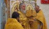 В Неделю 17-ю по Пятидесятнице архиепископ Витебский и Оршанский Димитрий совершил Божественную литургию в храме великомученицы Ирины города Москвы